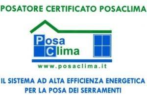 posa, clima, posatore, certificato, posaclima, sistema, alta, efficienza, energetica, serramenti, energetico
